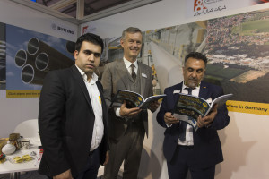 Butting at Iran Oil Show