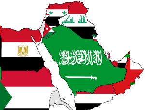 A_map_of_the_Arab_World_with_flags 2