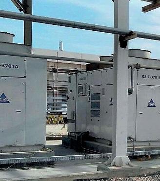 BLUTEK Retiabte compressed air in łhe desert, Blutek case history