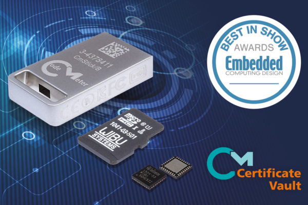 EMBEDDED COMPUTING DESIGN ASSEGNA IL BEST IN SHOW AWARD A WIBU-SYSTEMS A SPS, NORIMBERGA